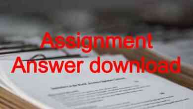 Week Assignment Answer download