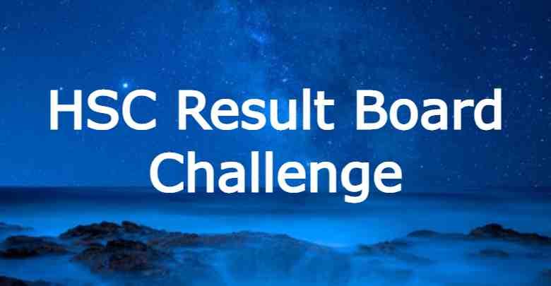 HSC Result Board Challenge