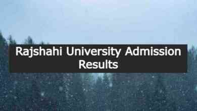 Rajshahi University Admission Results